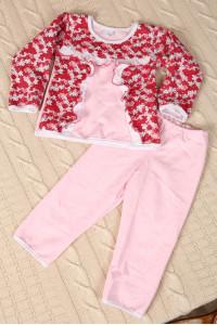 Н1 Пижама детская с оборочкой (В ассортименте)
