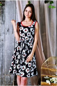 Д22 Платье Дарина (Ромашки)
