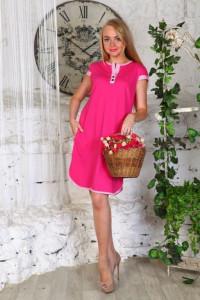 В258 Туника Полина (розовая)