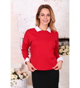 В316 Блузка Лиза (Красная)