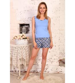 Б23 Пижама Аня (светло голубая)