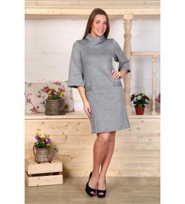 Д461 Платье Молли (серое)