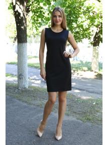 Д491 Платье Клара (черное)