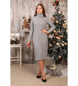 Д494 Платье Яна (серое)
