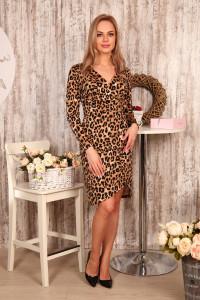 Д500 Платье Тифани (леопард)