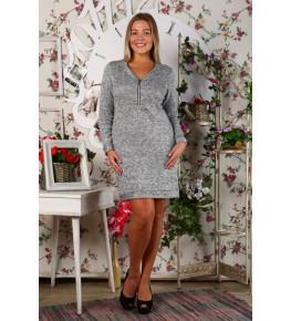 Д431 Платье Вероника (Серая)