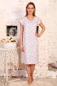 А4 Сорочка Крестьянка (розовая)