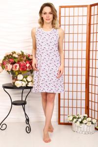 А16 Сорочка Бабушкина (розовая цвет в ассортименте)