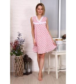 Э62 Сорочка Матрешка (розовая)