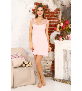 А41 Сорочка Амелия (розовая)