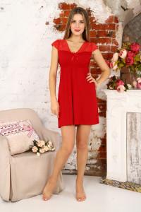 А41 Сорочка Амелия (красная)
