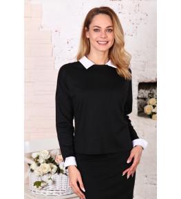 В316 Блузка Лиза (черная)