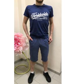 М3 Шорты мужские (синие)