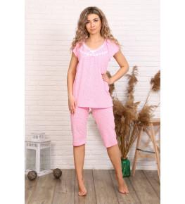 Б10 Пижама Вишенка (сердечки на розовом)
