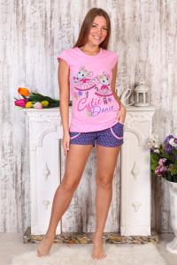 Э56 Пижама с футболкой (мышки)
