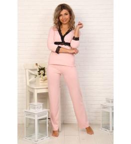 Б30 Пижама Романтика (розовая)