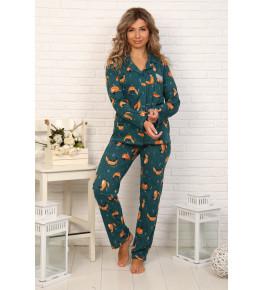 Б31 Пижама Сон (лисы)