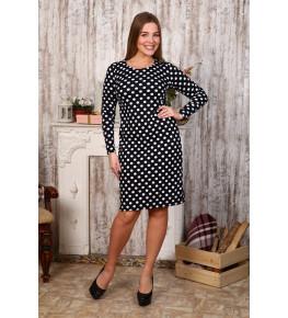 Д414 Платье Светлана (горох)