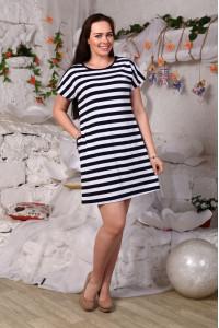Д427 Платье Евгения (Полоса)