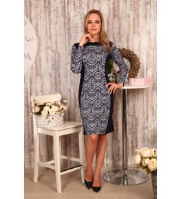 Д439 Платье Жасмин (узоры)