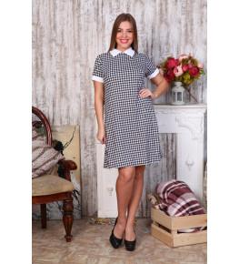 Д440 Платье Диана короткий рукав (Лапки)