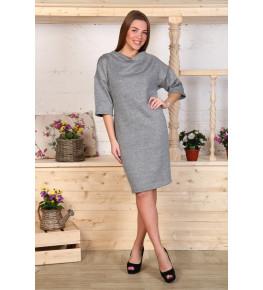 Д456 Платье Ирма (серое)