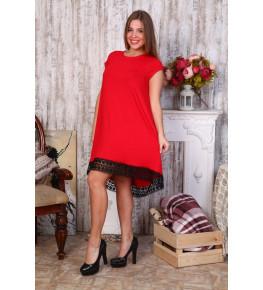 Д466 Платье Камила (красное)