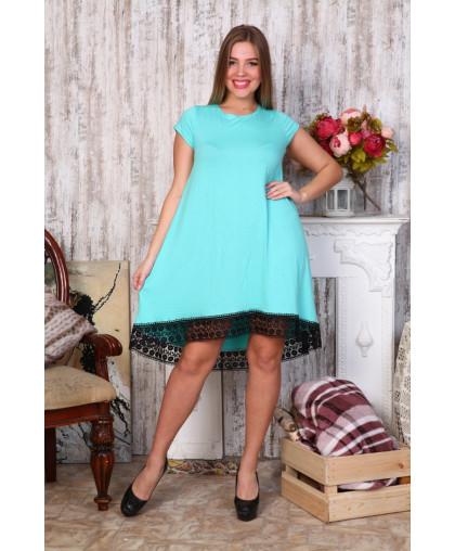 Д466 Платье Камила (мятная)