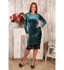 Д476 Платье Каролина (изумруд)
