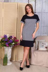 Д486 Платье Нинель (гус. лапка)