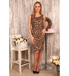 Д502 Платье Хлоя (леопард)