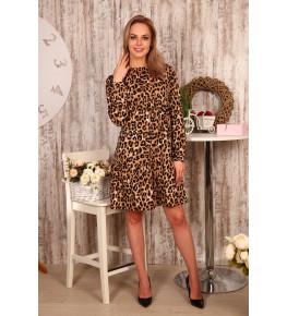 Д501 Платье Мелисса (леопард)