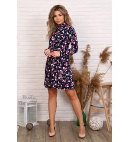 Д503 Платье Глафира (цветочки)