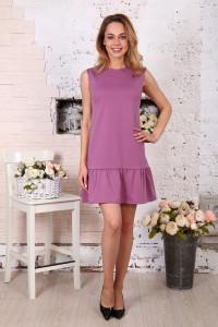 Д508 Платье Валерия (Брусника)