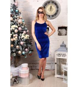 Д512 Платье Матильда (василек)