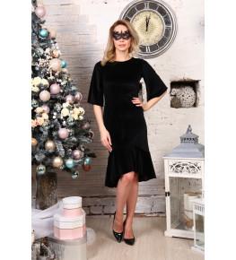 Д513 Платье Ида (черное)