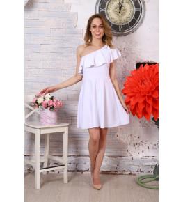 Д521 Платье Афина (белое)