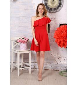 Д521 Платье Афина (красное)