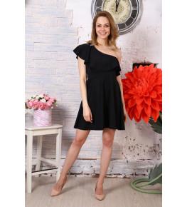 Д521 Платье Афина (черное)