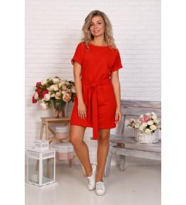 Д525 Платье Новелла (красное)