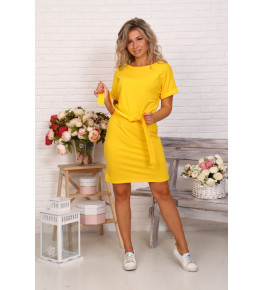 Д525 Платье Новелла (желтое)