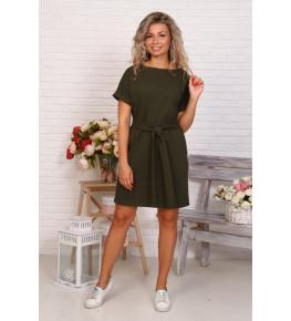 Д525 Платье Новелла (хаки)