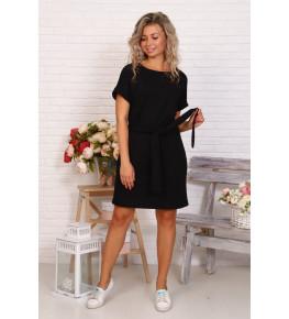 Д525 Платье Новелла (черное)
