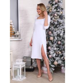 Д529 Платье Зинаида (белое)