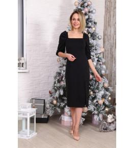 Д529 Платье Зинаида (черное)
