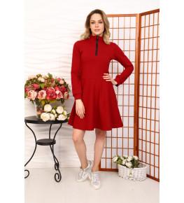 Д520 Платье Айва (Бордовое)